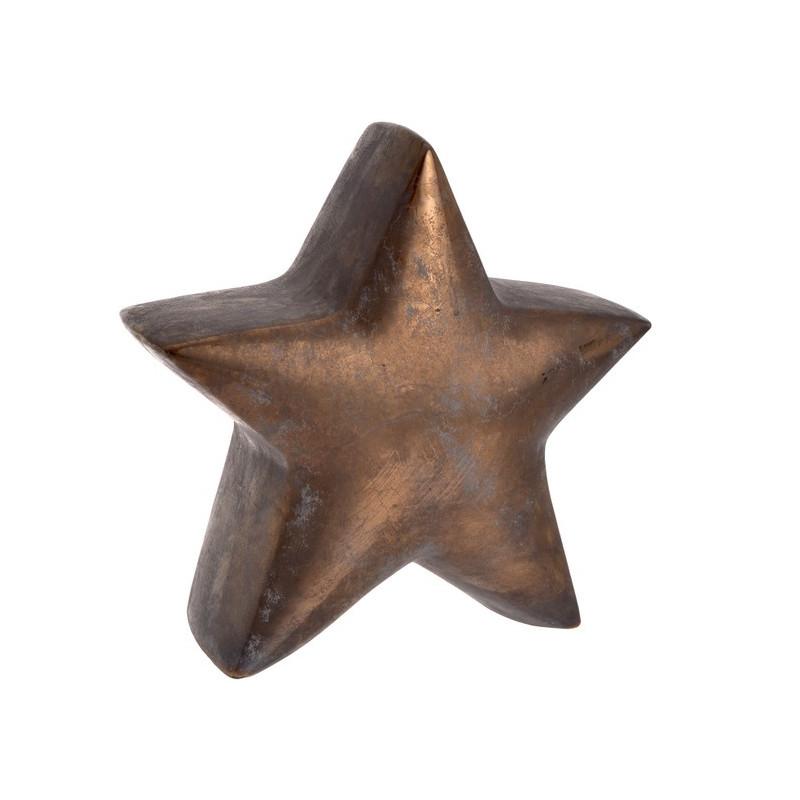 Gwiazda 31cm - ceramika