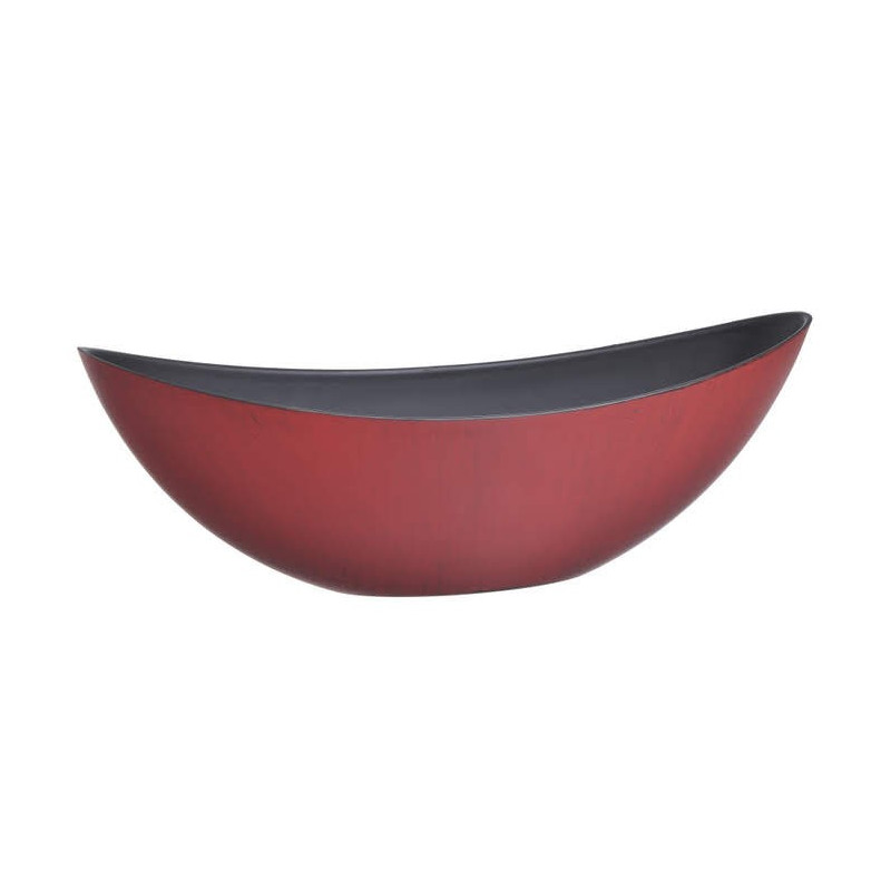 Osłonka retro mat 34 cm RED+BLACK 34 x 11 x 11 cm