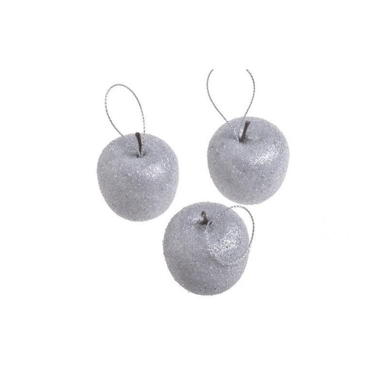 Jabłuszka zimowe 10szt-paczka 4 cm