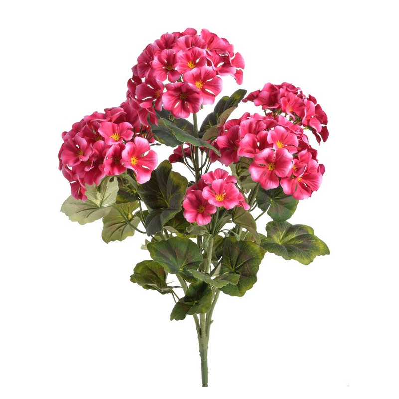 Bukiet pelargonii..32 cm - sztuczna roślina