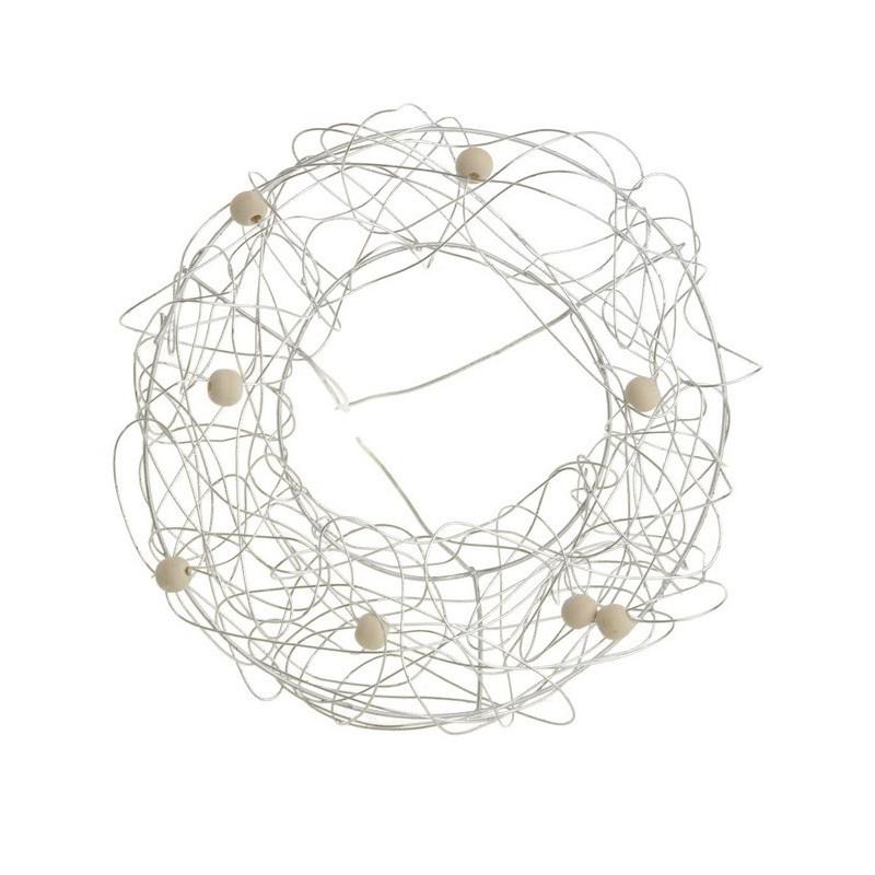 Kryza druciana z kuleczkami 15 cm