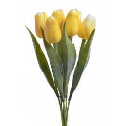 Tulipan x6..43 cm - sztuczny kwiat