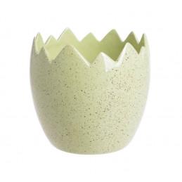 Nakrapiana osłonka skorupka 11x12cm - wyrób ceramiczny