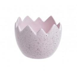 Nakrapiana osłonka skorupka 9x7cm - wyrób ceramiczny
