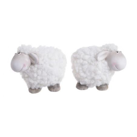Owieczka 7 cm - wyrób ceramiczny