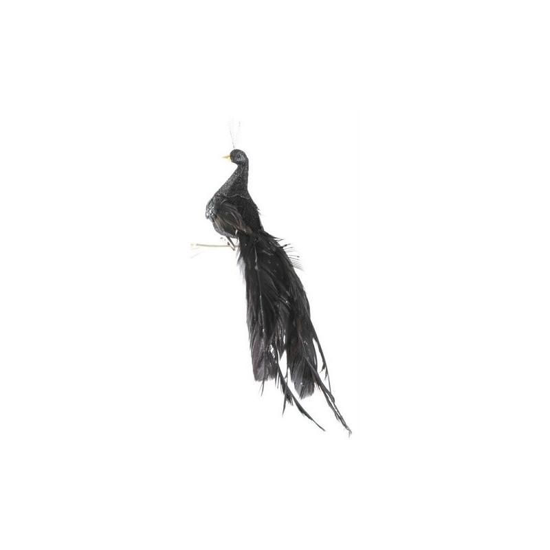 Paw długi ogon na klipie L27 cm