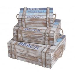 Kufer rybacki 3szt-kpl..28x22x10cm, 24x18x8cm, 20x14x6 cm