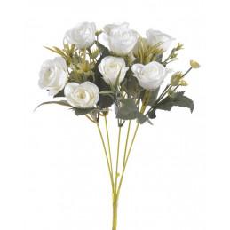 Bukiecik róż x10 30 cm - sztuczna roślina