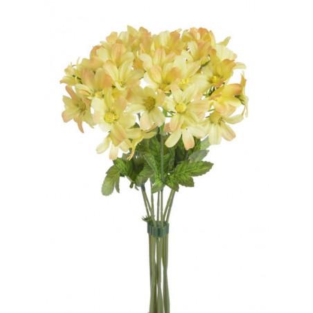 Bukiet złocieni x7, 27 cm - sztuczny kwiat