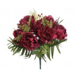 Bukiet piwonia x 13....36 cm - sztuczna roślina