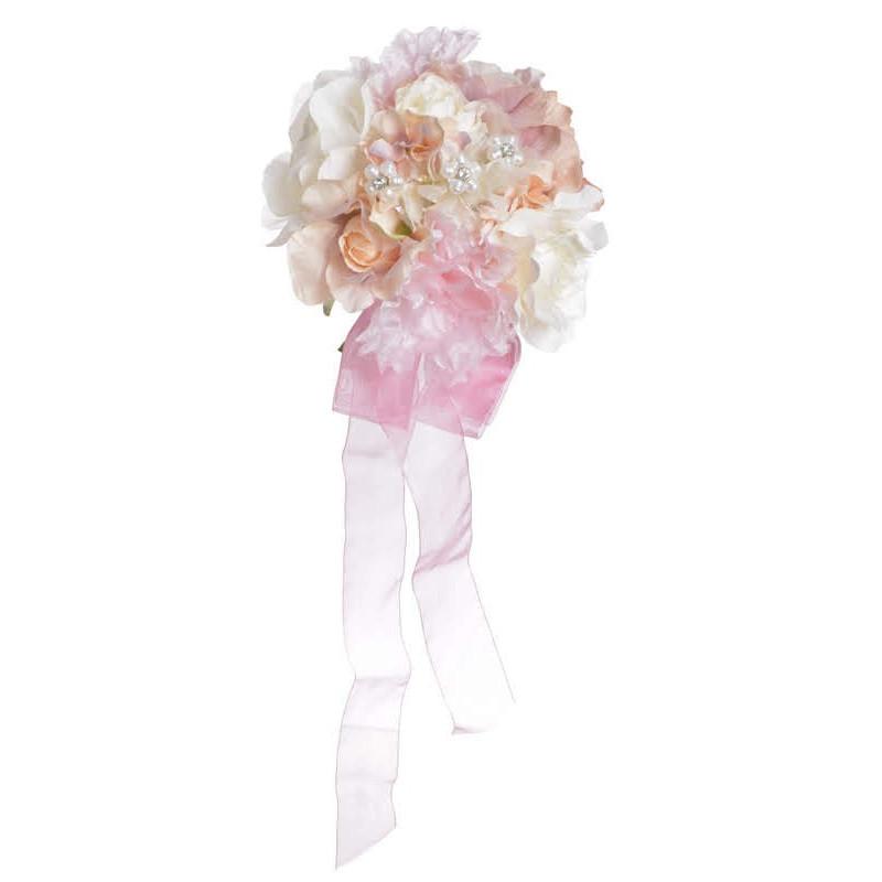 Bukiet mieszany..23 cm - dekoracja ślubna