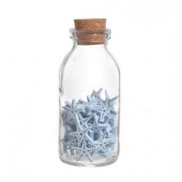 Gwiazdki w butelce..10cmH, gwiazda-2cm