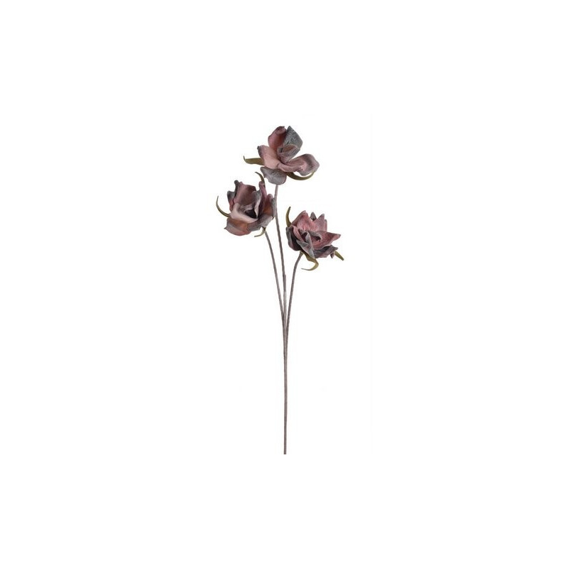Gałązka - egzotyczny kwiat x3..120 cm - wyrób piankowy