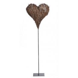 Serce na stojaku 110 cm - do kompozycji
