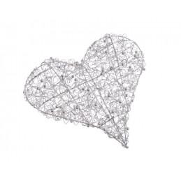 Serce 30 cm  - idealna dekoracja na ślub