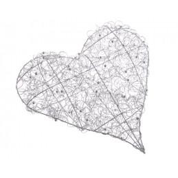 Serce 40 cm  - idealna dekoracja na ślub