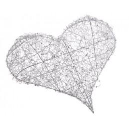 Serce 50 cm  - idealna dekoracja na ślub