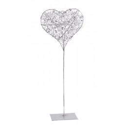 Serce na stojaku 55 cm  -element dekoracyjny