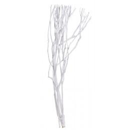 Gałęzie drzewa herbacianego 98 cm, 6szt-pęczek ŚNIEŻNA BIEL