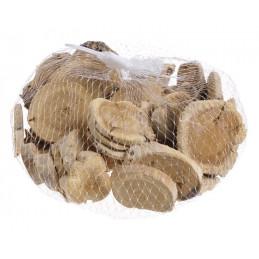 Plasterki drewna białe, 250 g