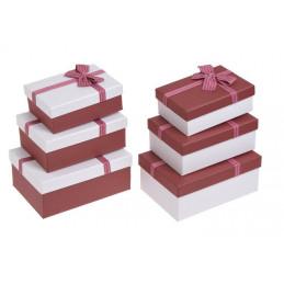 Pudełka 3szt-kpl - 2 wersje kolorystyczne