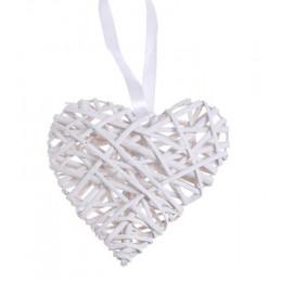Serce z wikliny 20 x 40 cm - zawieszka