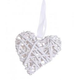 Serce z wikliny 15 x 35 cm - zawieszka