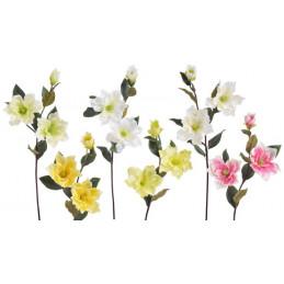 Magnolia x3 - sztuczna  roślina MIX KOLORÓW