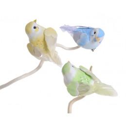 Ptaszek 8,5 cm na klipie - 6sztuk/paczka