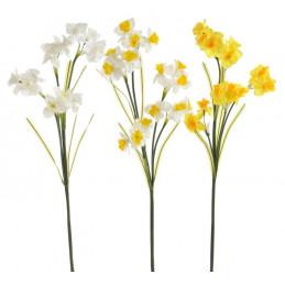 Narcyz 92 cm - sztuczna roślina MIX 3 KOLORY