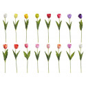 Tulipan rozwinięty 60 cm- sztuczny kwiat MIX KOLORÓW