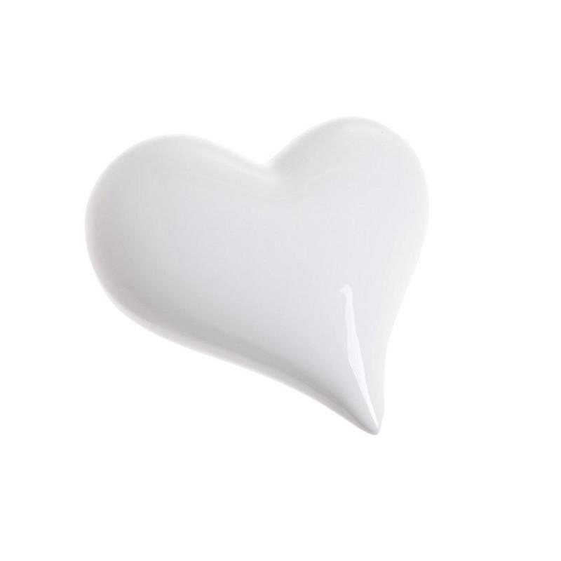 Serce 8 cm - ceramika
