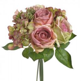 Bukiet mieszany z róż 32 cm