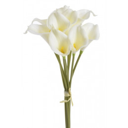 Calla x 9 38 cm - sztuczny kwiat