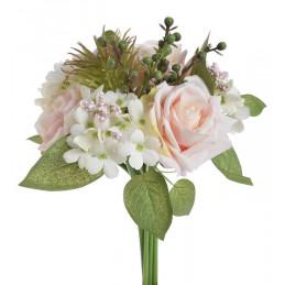 Bukiecik mieszany z róż 29 cm