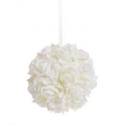 Kula z róż piankowych 15 cm-zawieszka