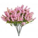 Sztuczna roślina 24 cm, 6szt-pęczek