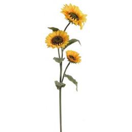 Słonecznik x3, 118 cm - sztuczna roślina