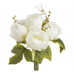Róża kapuściana x 6, 30 cm - sztuczna roślina