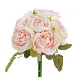Bukiet róż x 6, 25 cm - sztuczna roślina