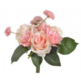 Bukiet mieszany z róż, 30 cm
