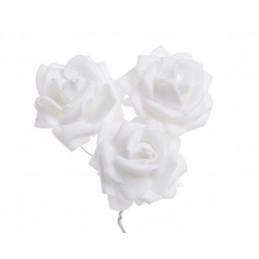 Różyczki piankowe 12 szt/paczka