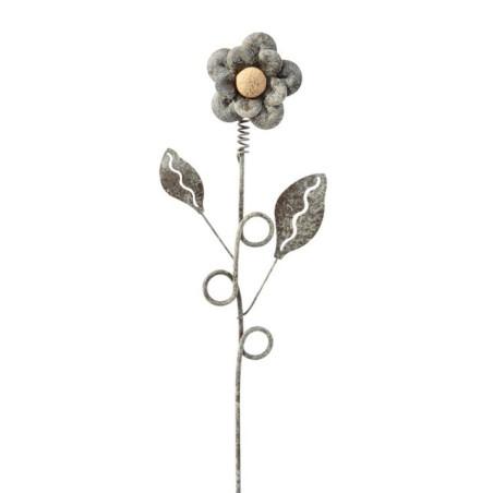 Pik kwiatek metalowy - dekoracja ogrodowa