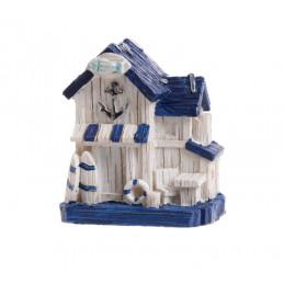 Chata rybacka 6 cm - artykuł dekoracyjny