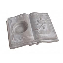 Księga - podstawka 24,5x18xH5,5 cm