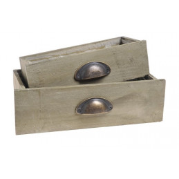 Skrzynki szufladki 2szt  2szt/kpl