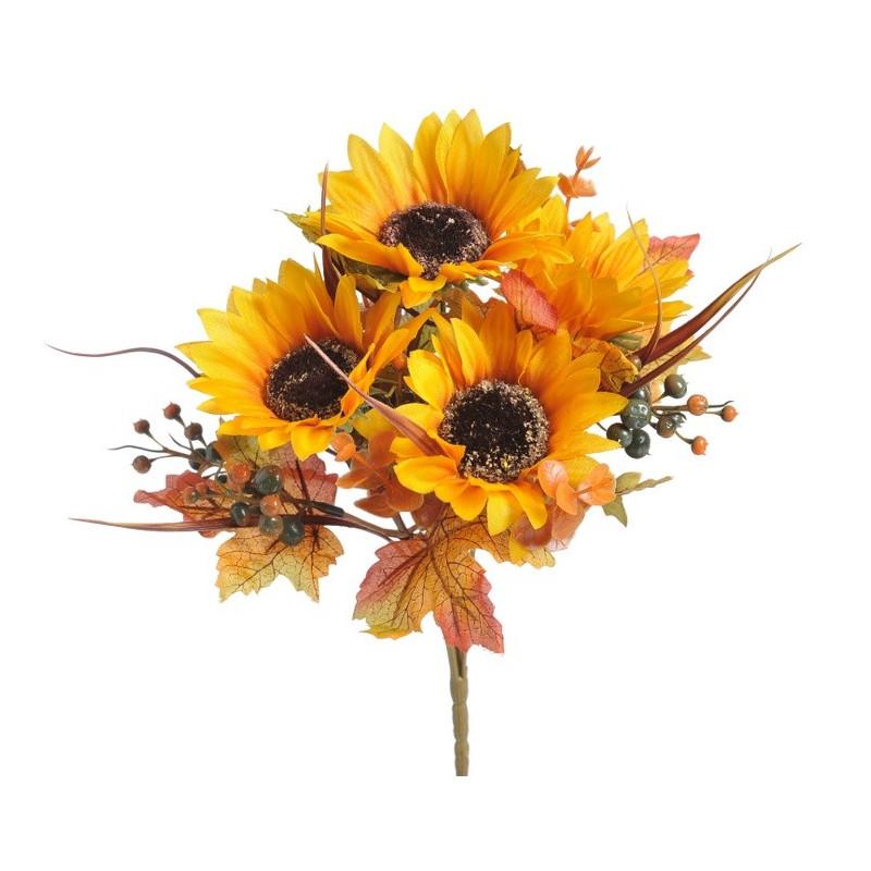 Bukiet ze słonecznikami 30 cm
