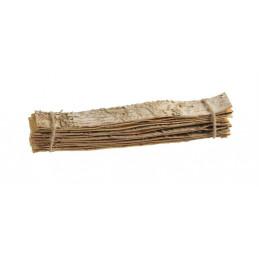 Płaty brzozy 30x4 cm - 12 sztuk/paczka