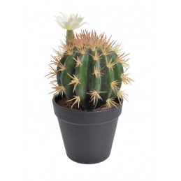 Kaktus kwitnący w doniczce 22 cm - sztuczna roślina