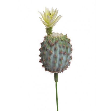Kaktus kwitnący..12cm - sztuczna roślina